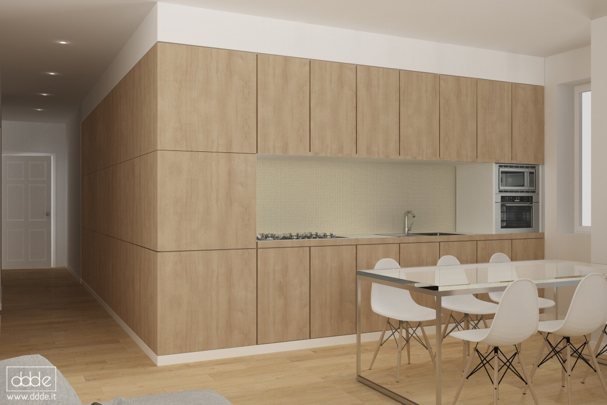 Kitchen or closet ??? in Cinema 4d vray image