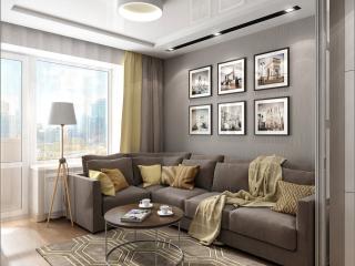 Interior design of a living room in Chernigov