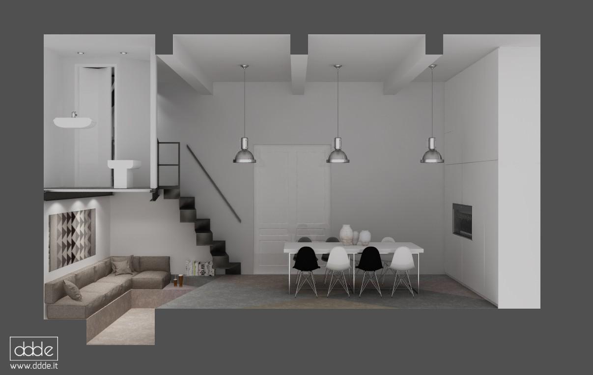 Восстановление в подвале... в Cinema 4d vray изображение