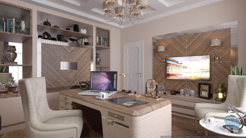 visualización 3D del proyecto en el Oficina 3d max render Other maxx_trump