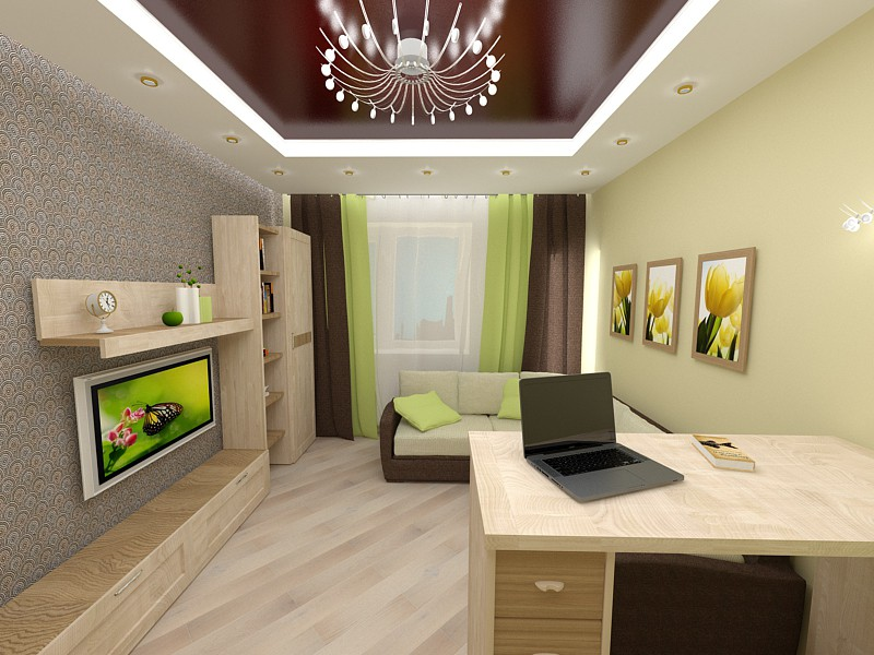 3d visualization of the project in the Living at Nikitina 3d max, render vray 3.0 of nataliroman