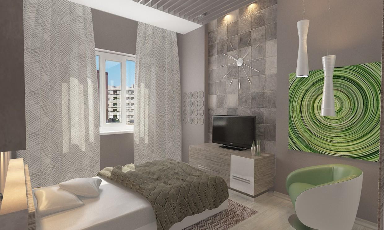 Cпальная в 3d max vray 2.0 изображение