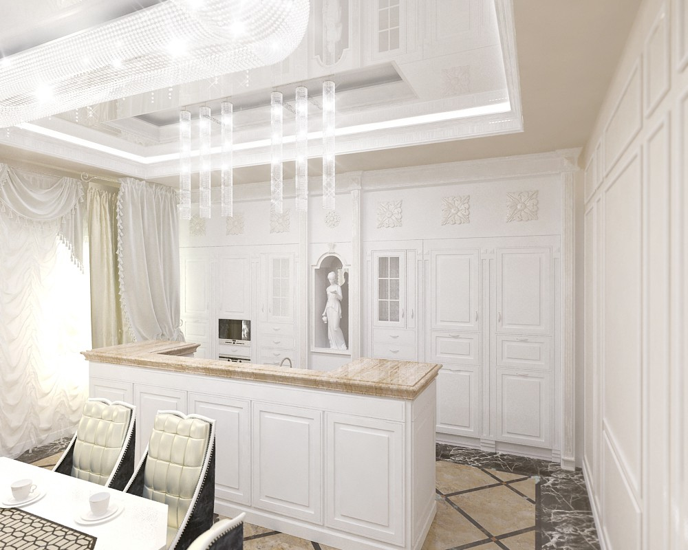 Cottage for a richi (from Gazprom) in Crimea)))) in 3d max vray image