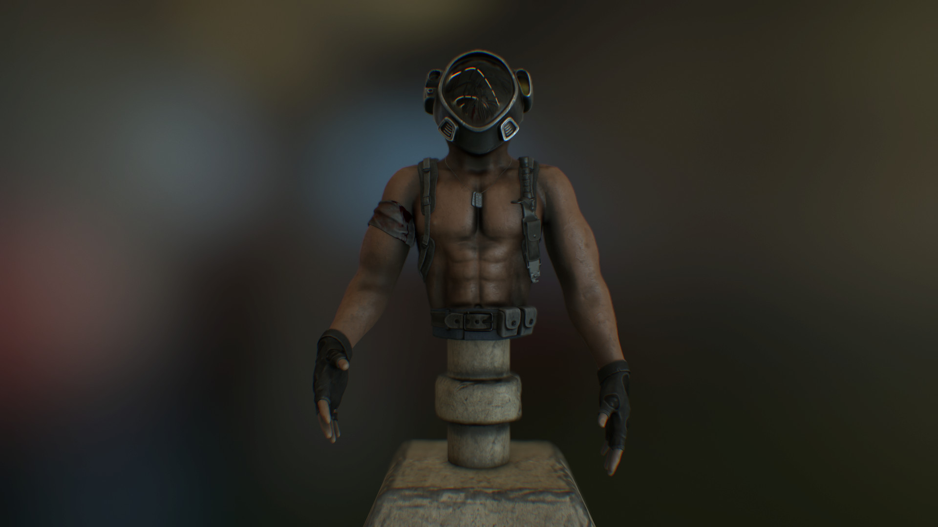Survivor in ZBrush Other image