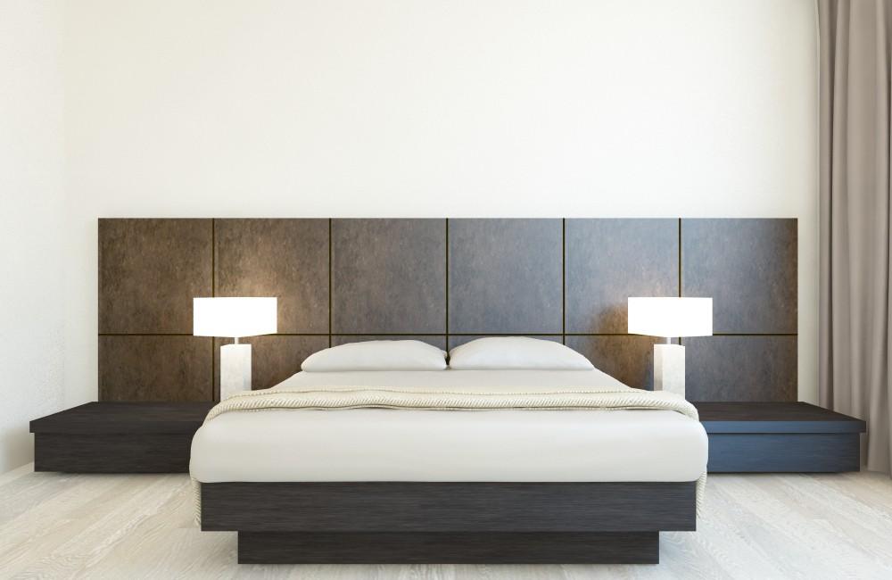 3d визуализация проекта Спальня в 3d max, рендер vray от Ируля