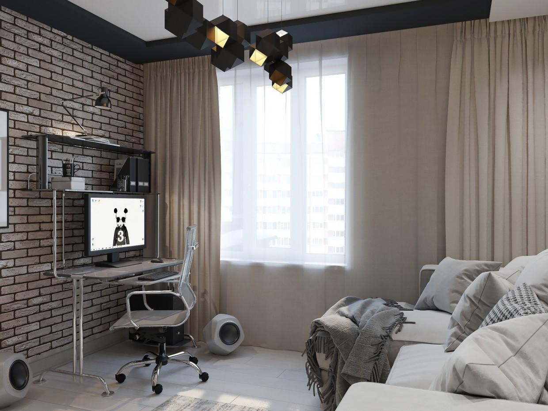 Teen room. in 3d max corona render image