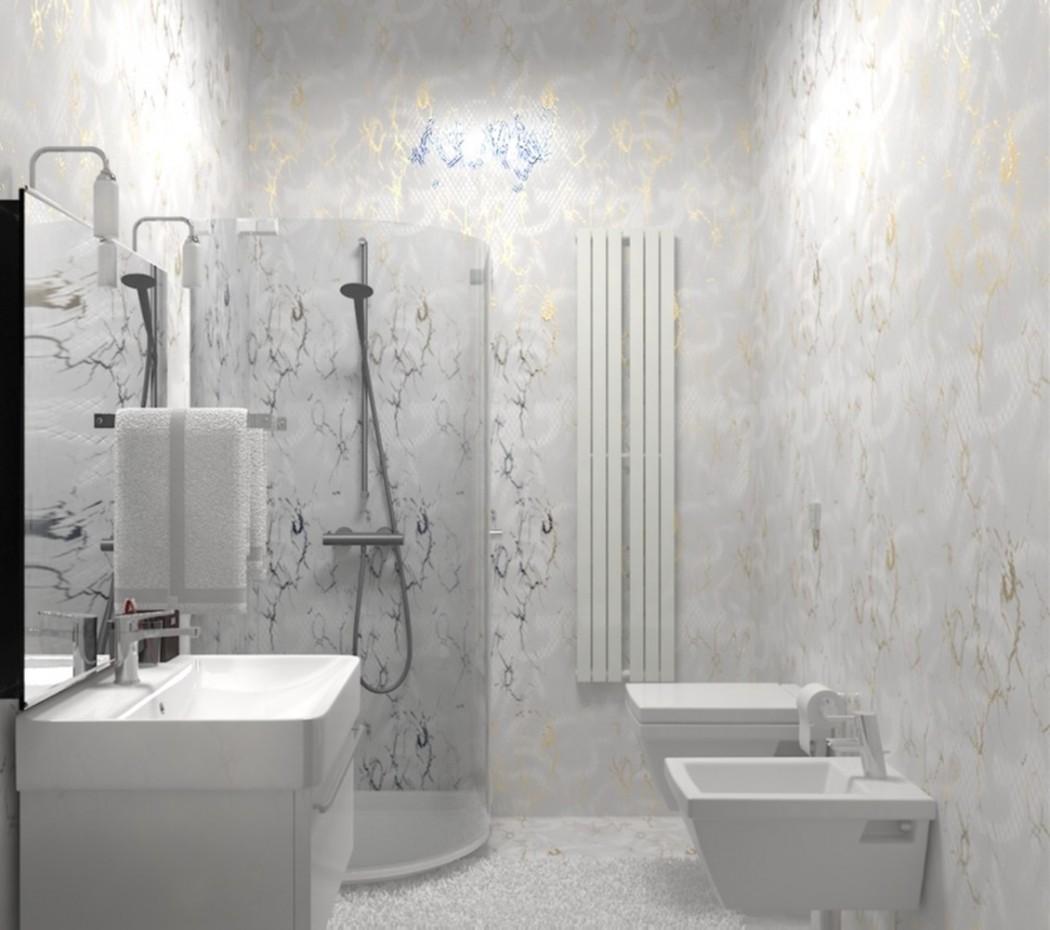 bagni sono 2 varianti. in 3d max vray immagine