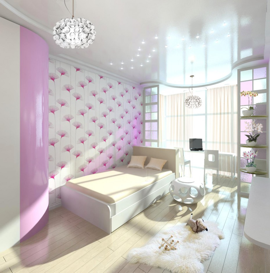 3d visualization of the project in the Sofie's bedroom Other thing, render Other of Eкатерина
