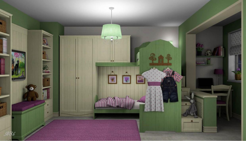 """imagen de  Infantil habitación """"Lavanda""""  en  Otra cosa   Other"""