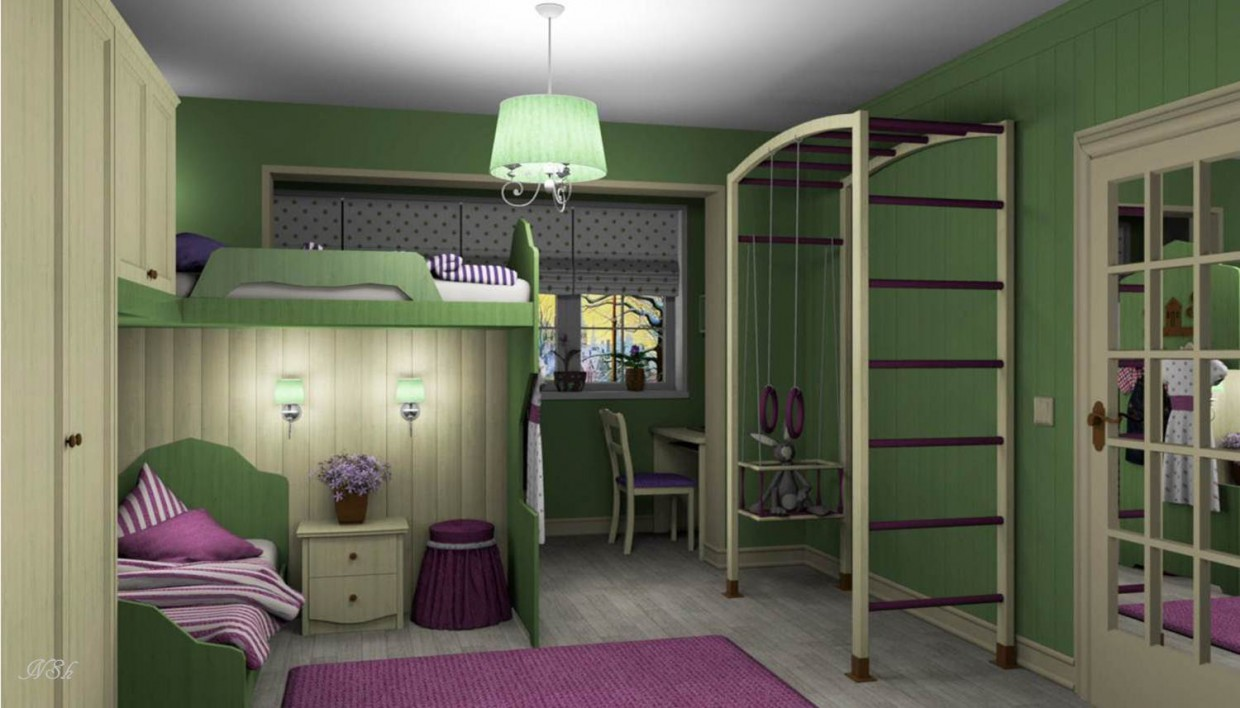 """Children's room """"Lavender"""" in Other thing Other image"""