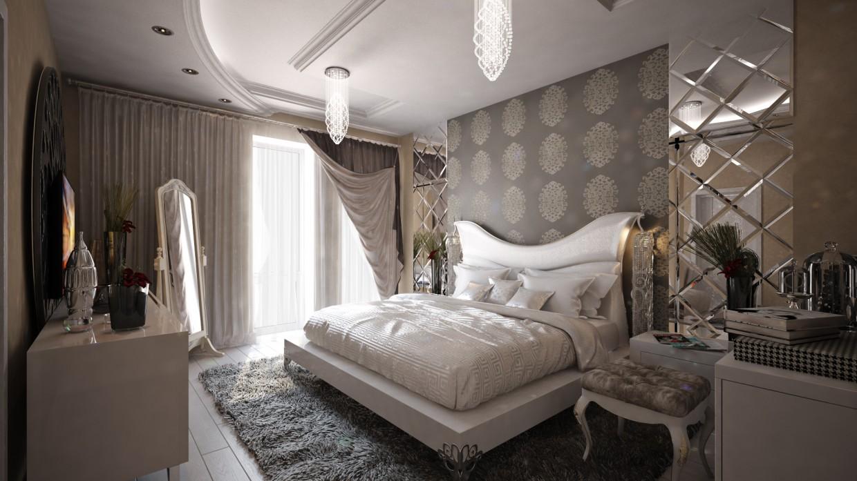 imagen de Dormitorio en 3d max vray