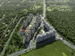 visualization of residential complex
