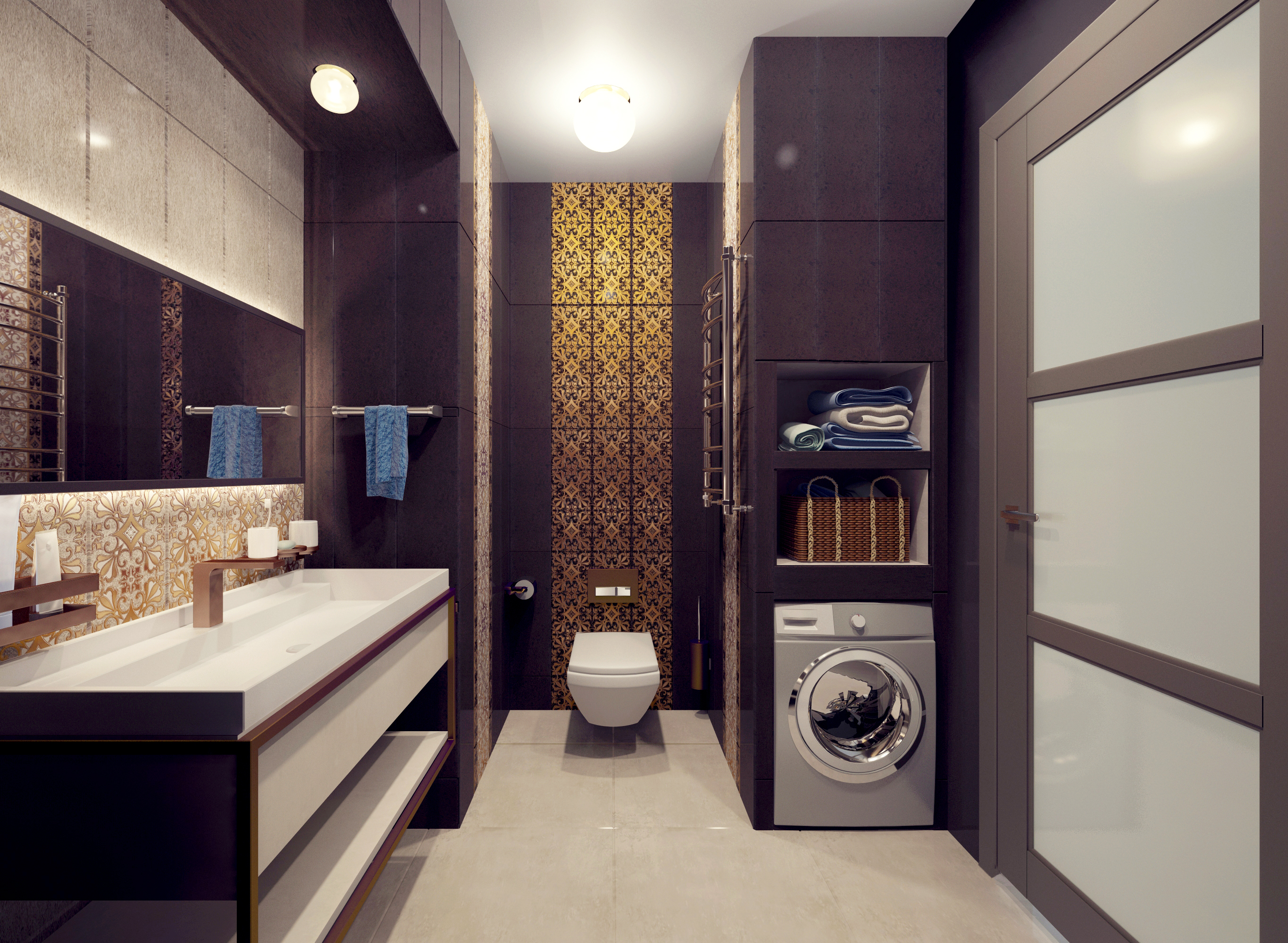 Bathroom in 3d max vray 2.5 image