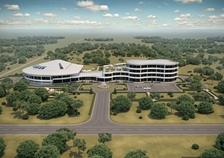 Центр анималотерапии ( виз. дипломной работы ) в 3d max Other изображение