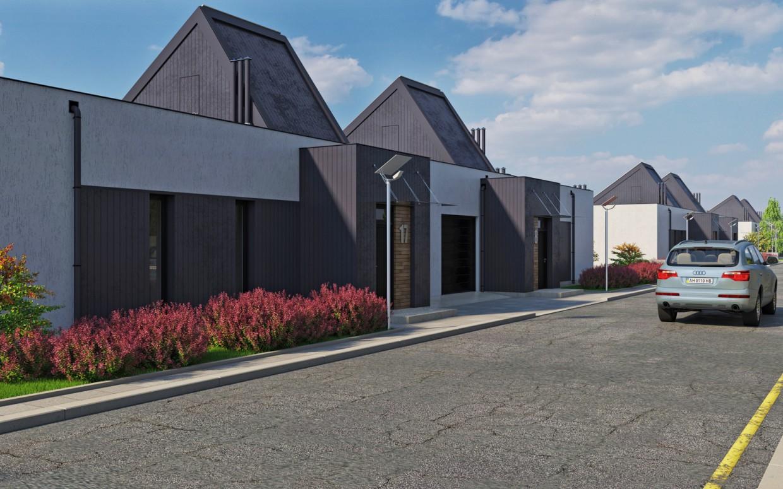 "Residential complex ""DAVIS"". Duplexes. in 3d max corona render image"