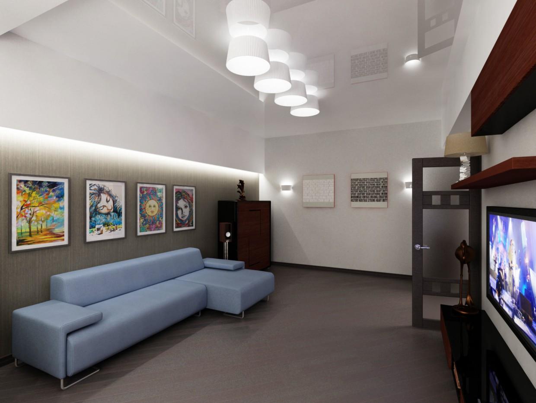 Квартирка в 3d max vray зображення