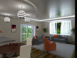 Variante de uma sala de estar