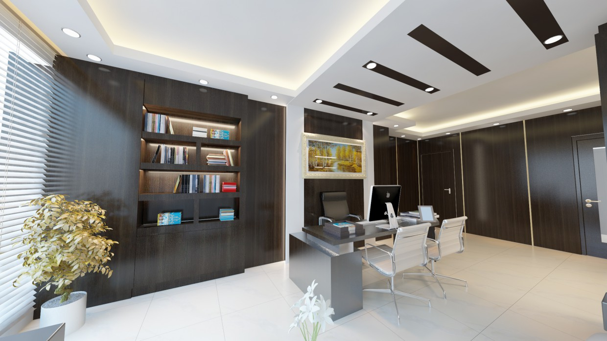 Office design for engineer style art deco design and for Office design 3d max
