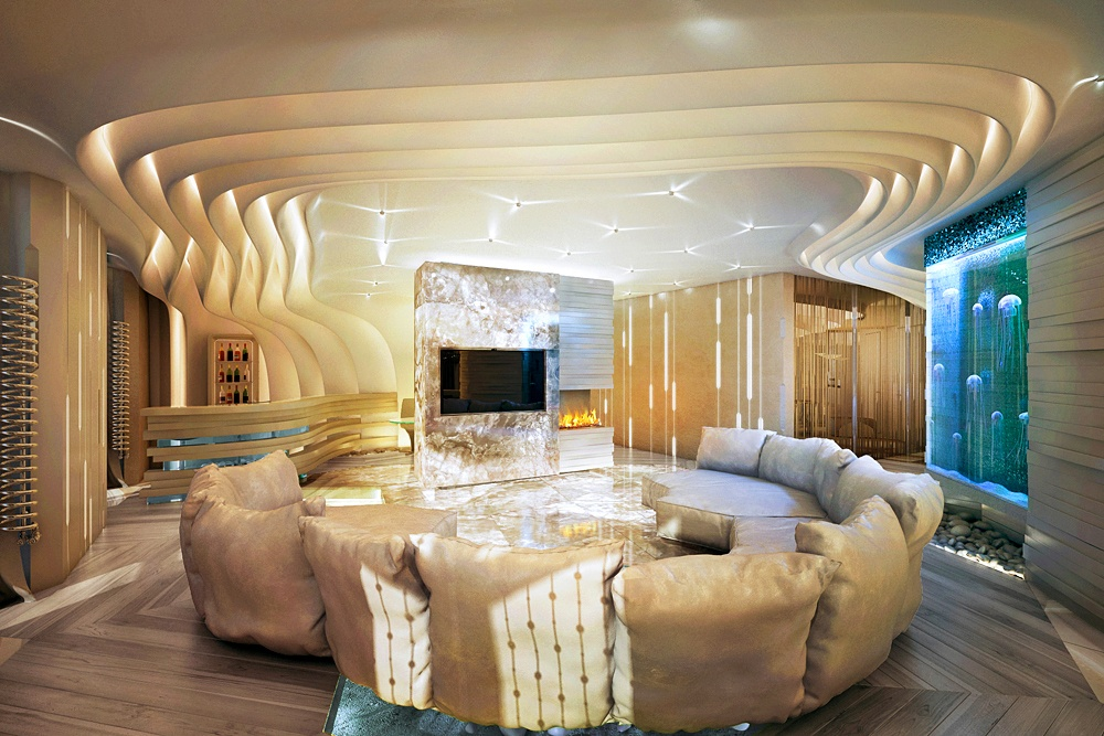 Apartamento Futurista Visualizaci 243 N Y Dise 241 O 3d Trabajo