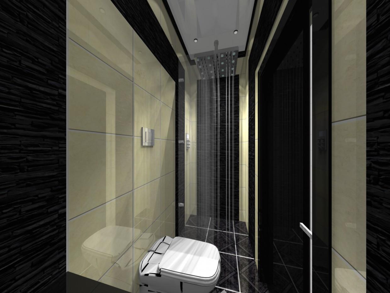imagen de Hotel wc en 3d max vray