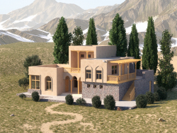 Traditional architecture of Tajikistan