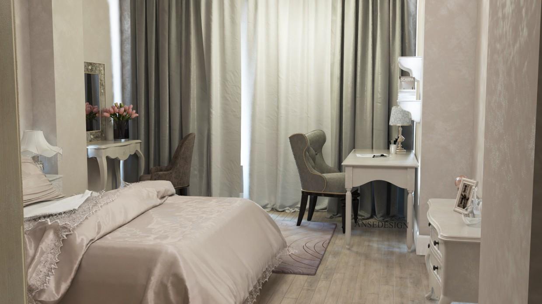 3d визуализация проекта Спальня в 3d max, рендер vray от Anse