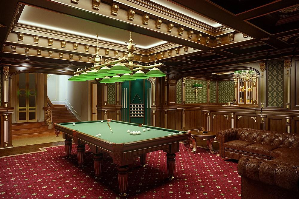 Billiards in Blender cycles render image