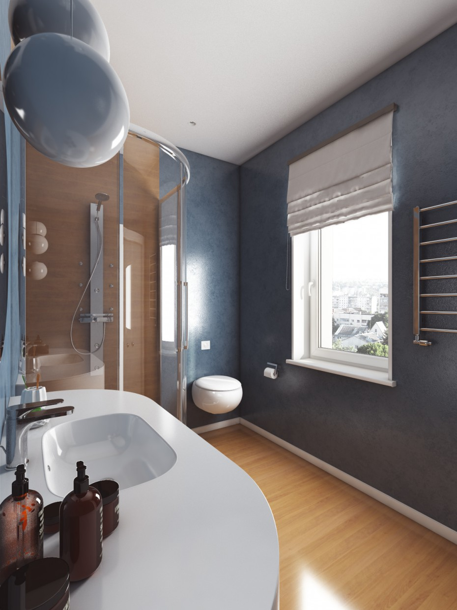 WC in 3d max vray image