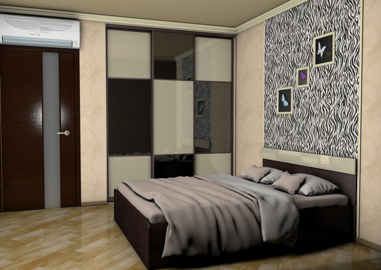 Bedroom in Cinema 4d Other image