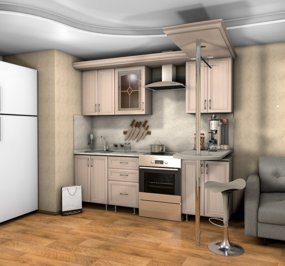 Kitchen in Cinema 4d Other image