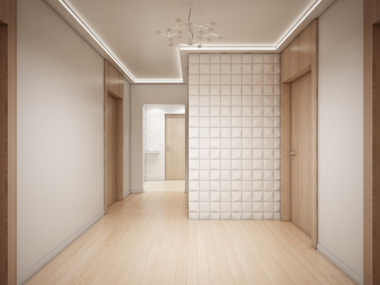 Холл в 3d max vray изображение