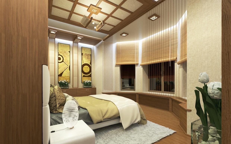 imagen de Interior de dormitorio en 3d max vray