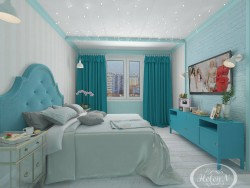 Visualization of theq bedroom
