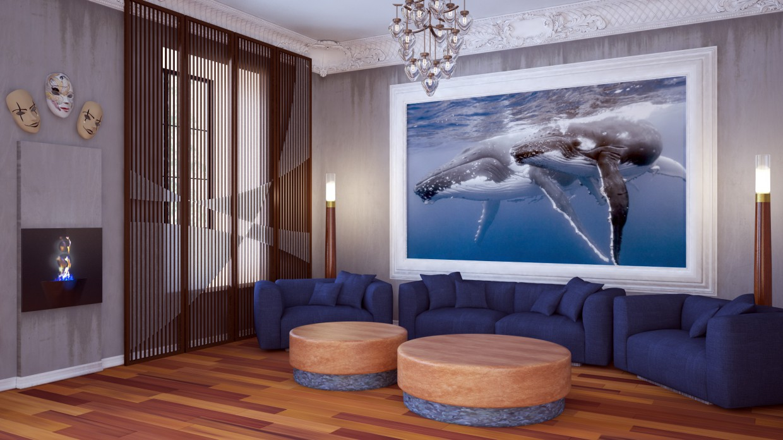 Art loft in 3d max vray image