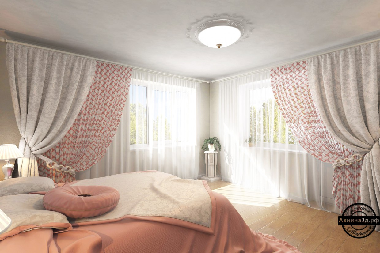 Apartment 64sq.m. in Gorno-altaysk in 3d max vray image