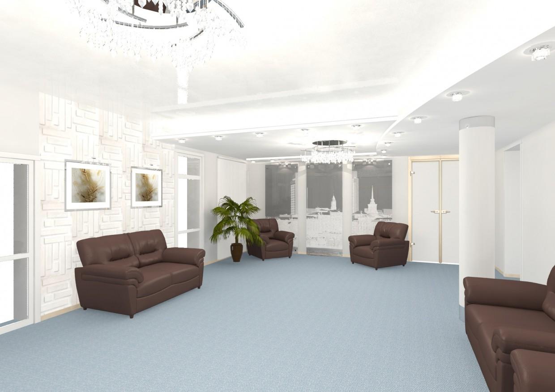 imagen de Salón Vip del aeropuerto en 3d max mental ray