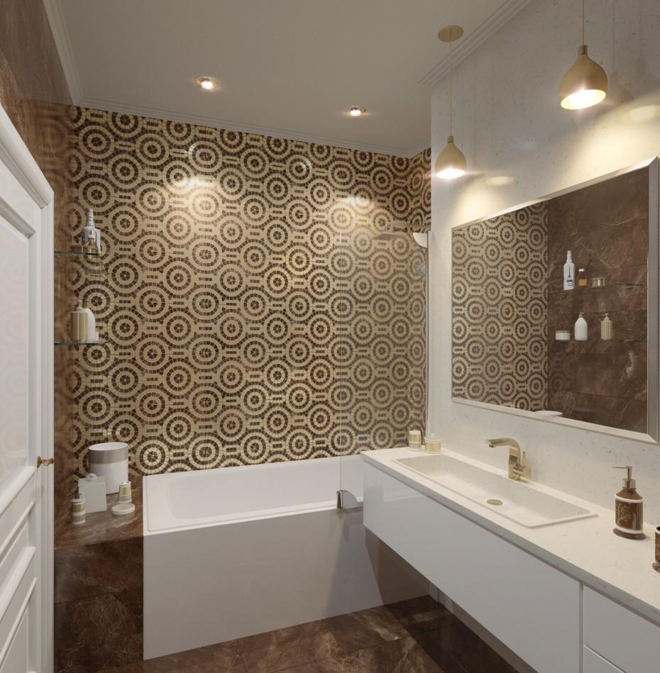 imagen de Cuarto de baño en 3d max corona render