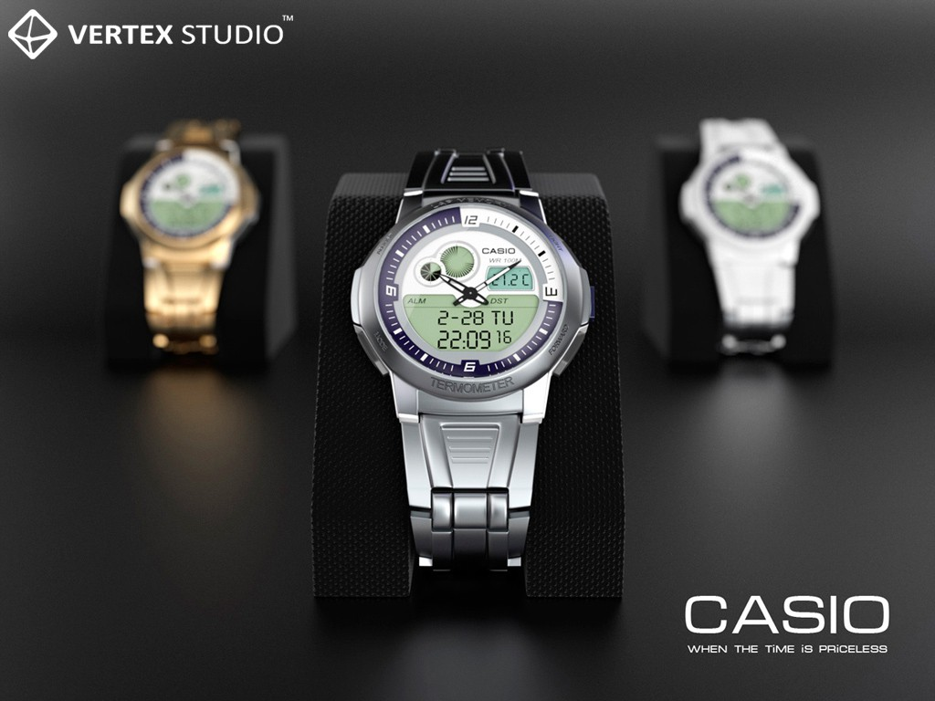 Casio in 3d max Other Bild