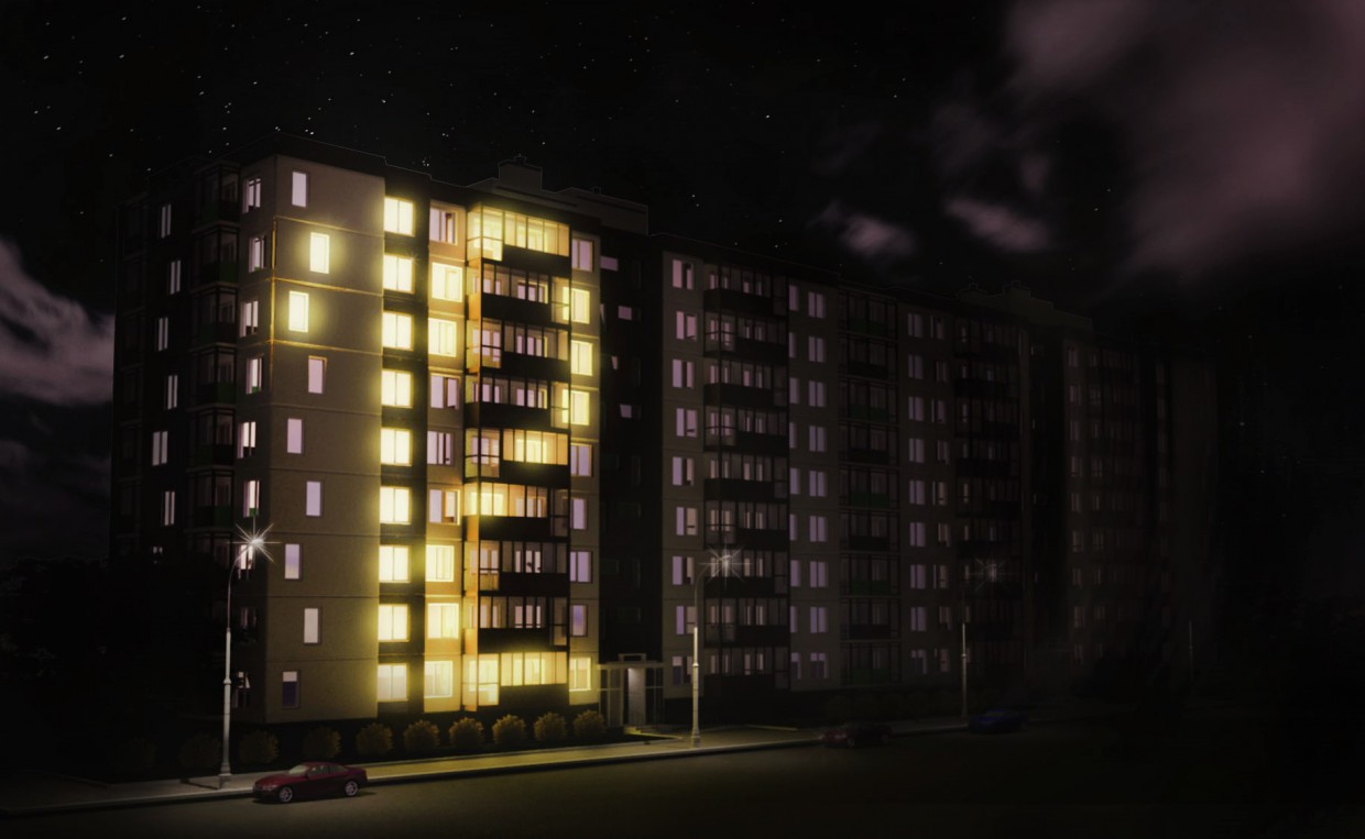 night socket in 3d max vray 3.0 image
