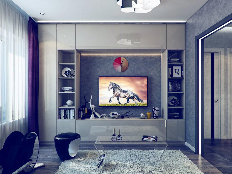 Квартира в 3d max vray зображення