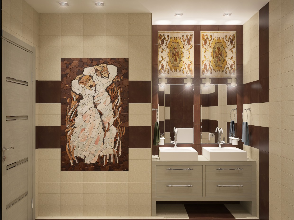 Bathroom-ArtSem in 3d max vray image