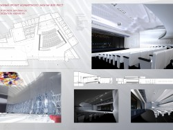 Blueprint of action hall