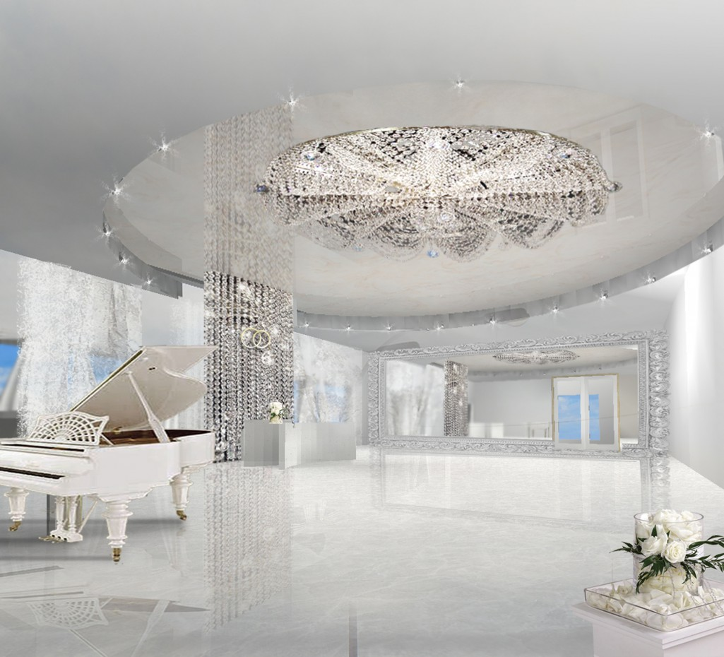 Wedding place  in  3d max   vray  image