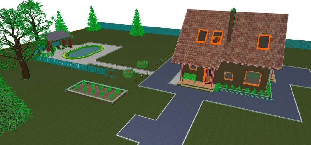 देश के घर ArchiCAD Other में प्रस्तुत छवि