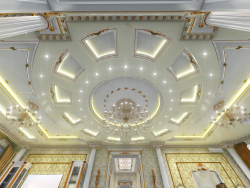 3D Визуализация. Дизайн интерьера коттеджа. Центральный Холл. (Видео прилагается).