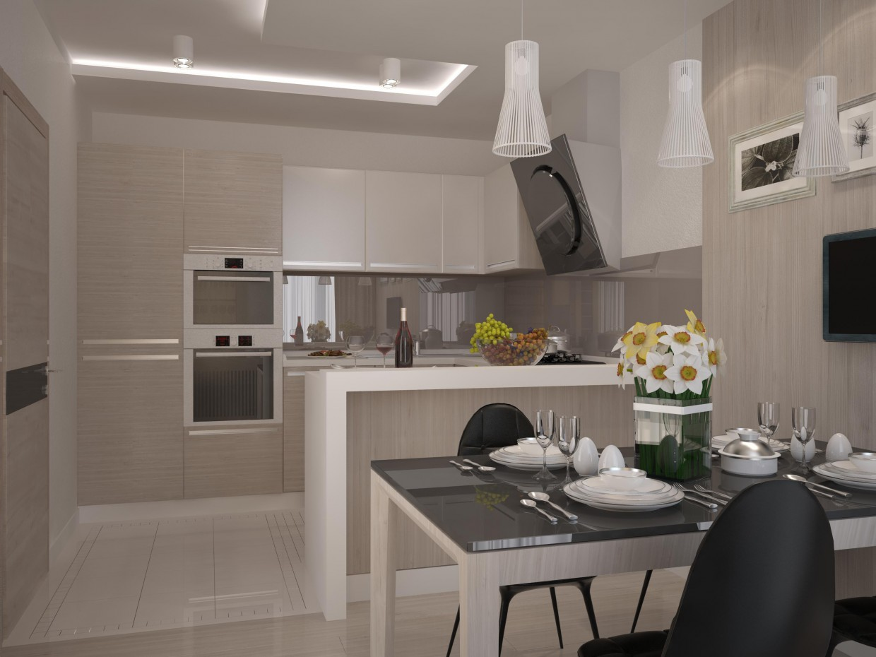 Kitchen Design And Visualization
