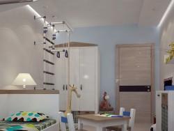 एक लड़के के लिए बच्चे के कमरे