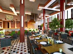 गोर्की पार्क में रेस्तरां