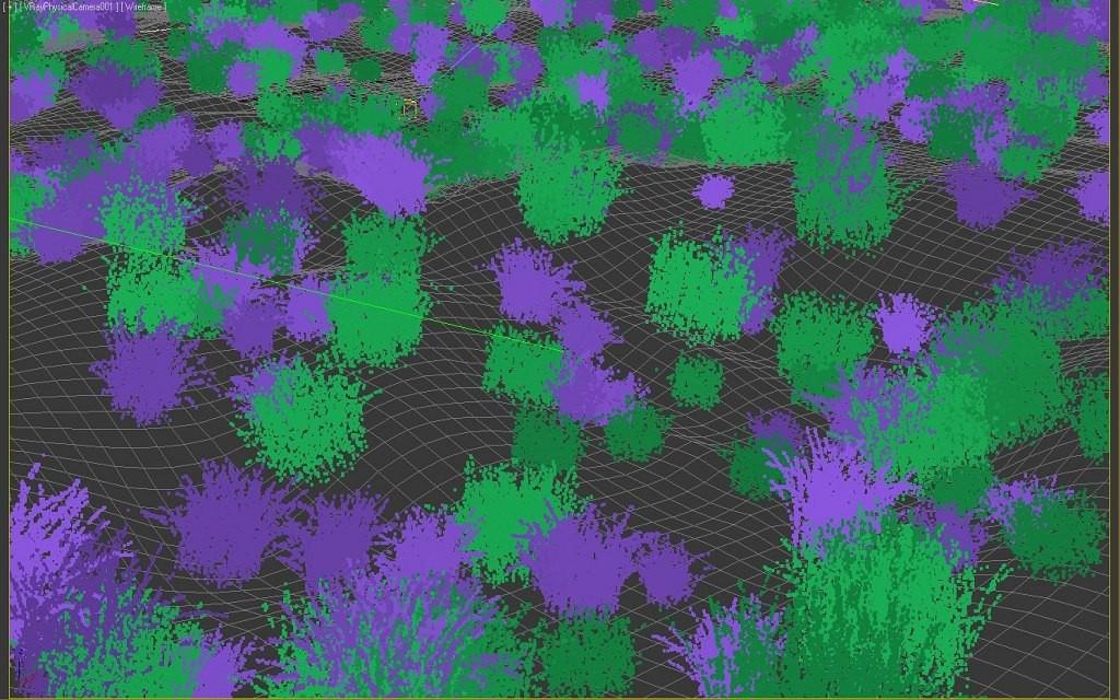 Grass в 3d max vray зображення