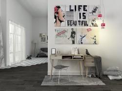 Banksy mood...